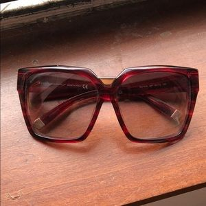 Dsquared red sunglasses